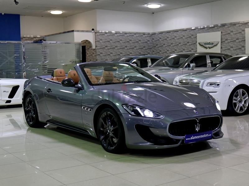 dubizzle dubai grancabrio 2015 maserati grancabrio mc sportline warranty from dealer gcc. Black Bedroom Furniture Sets. Home Design Ideas