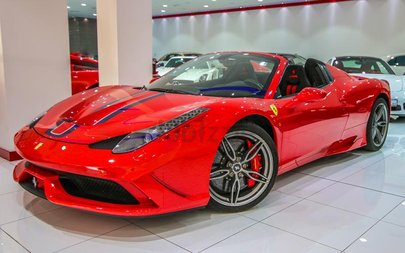 Ferrari 458 Speciale Aperta 2014 Red Black New| Warranty Until Dec 2017 +  Service Contract Dec 2021