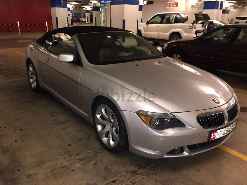 dubizzle dubai 6 series bmw 650 convertible for sale. Black Bedroom Furniture Sets. Home Design Ideas