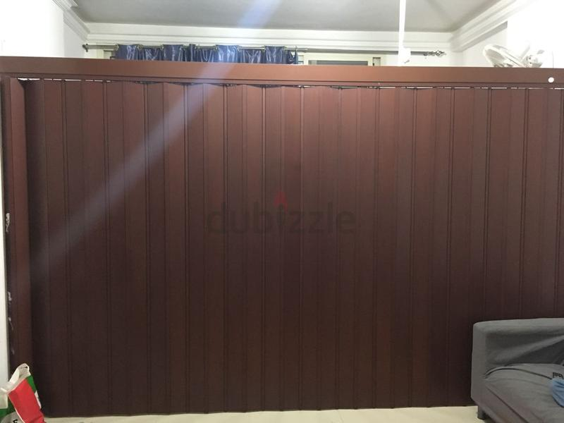 Sedar partition Door - AED 1500 & dubizzle Fujairah | Wooden/Plastic Blinds: Sedar partition Door