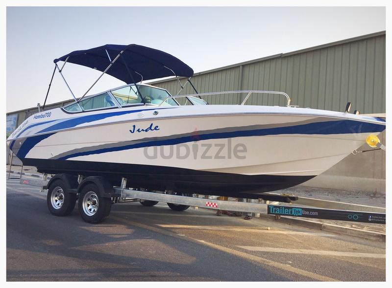 2018 : Sealine Boat Hannibal700 (24ft) Full o...