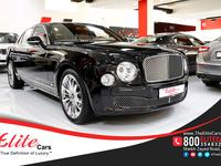 2013 BENTLEY MULSANNE IN IMMACULATE...