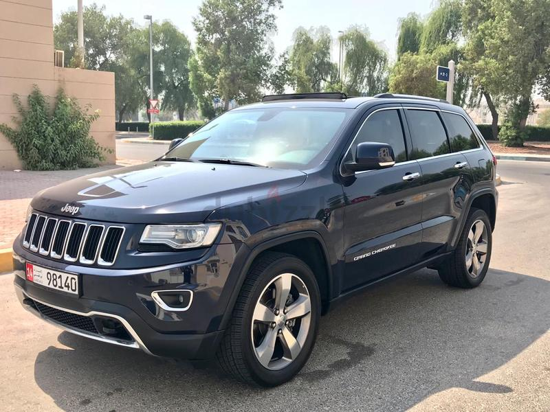 JEEP GRAND CHEROKEE 2014 LIMITED GCC FULL SERVICE HISTORY NO PAINT