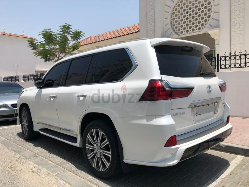 Dubizzle Dubai Lx Series Lexus Lx570 2017 New Facelift 2018 Low Mileage Under Al Futtaim Warranty