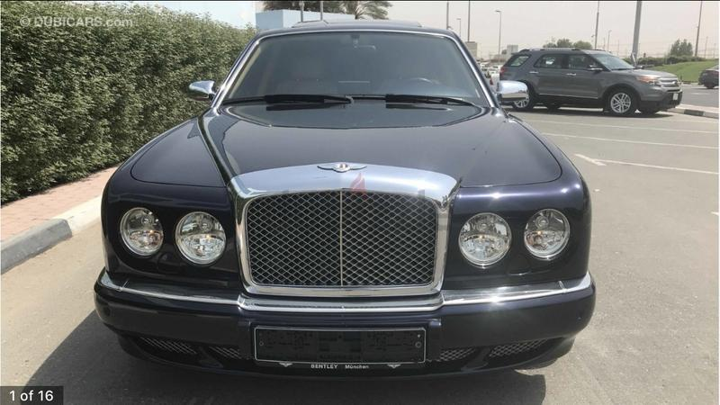 dubizzle dubai | arnage: 2006 bentley arnage gcc spec