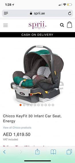 Chicco Car Seat For Sale Includes Base Also