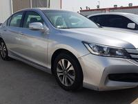 Honda accord 2016 silver