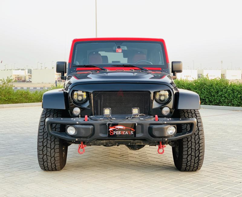 Dubizzle Sharjah | Wrangler: JEEP WRANGLER RUBICON//2014  (35000KM)ONLY!!GCC FULL OPTIONS
