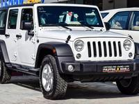 JEEP WRANGLER 4D 2017 WHITE - GCC S...