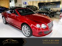 BENTLEY CONTINENTAL GTC SPEED [6.0L...