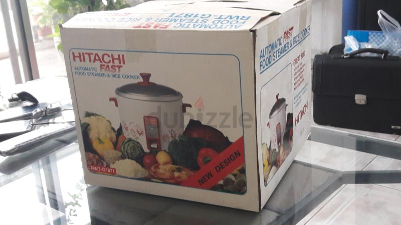 9e0cf20aac7 Hitachi auto food steamer and rice cooker - AED 120