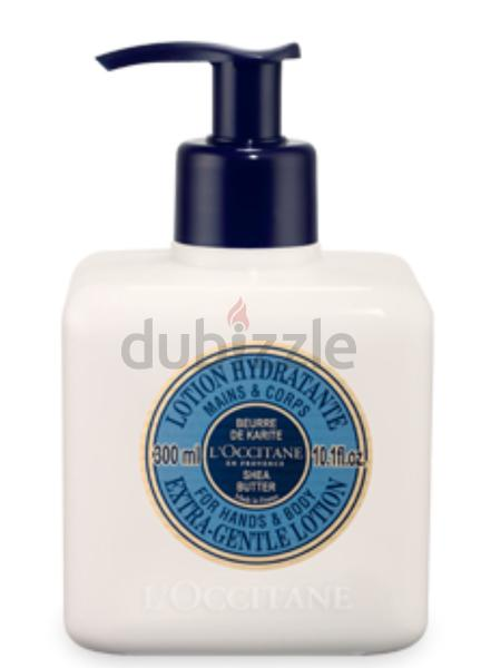 LOccitane Hand and body lotion