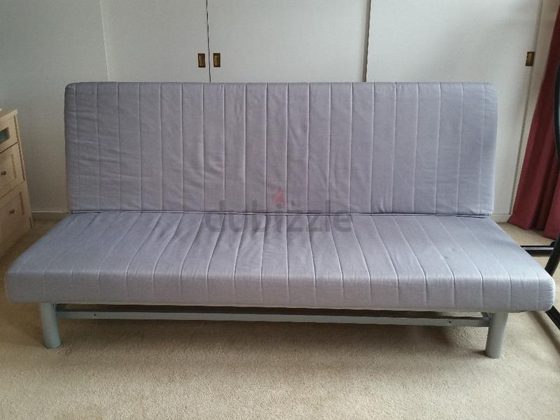 IKEA BEDDINGE SOFA CUM BED WITH TURQUOISE COVER   AED 650 Design Inspirations