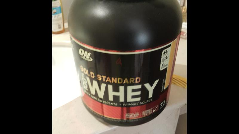 Gold standard .whey protein