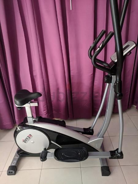 Magnetic Elliptical Bike Cross Trainer With S...