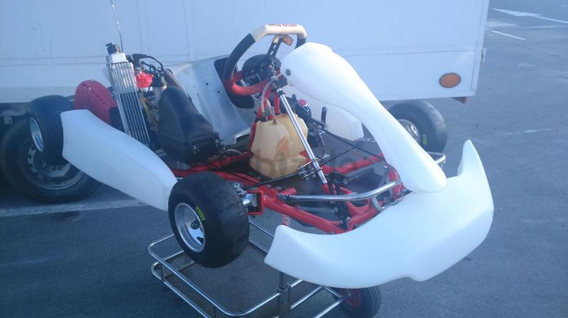 Swiss Hutless Kart Mini 950 with Rotax Micro ...