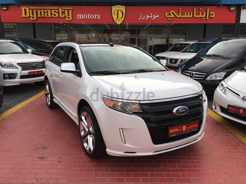 دوبيزل دبي | إدج: 2013 ford edge sport,awd,gcc specifications,fsh