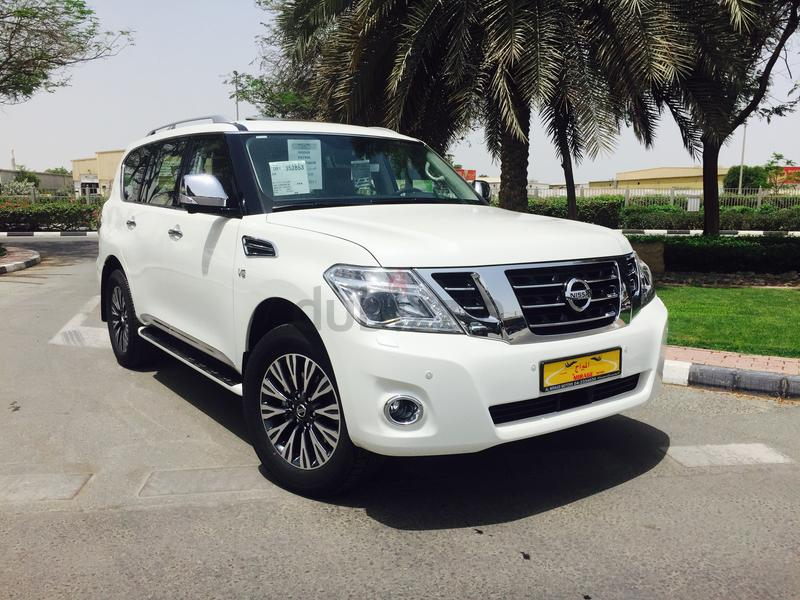 nissan patrol le platinum 2018 brand new al mirage motors. Black Bedroom Furniture Sets. Home Design Ideas