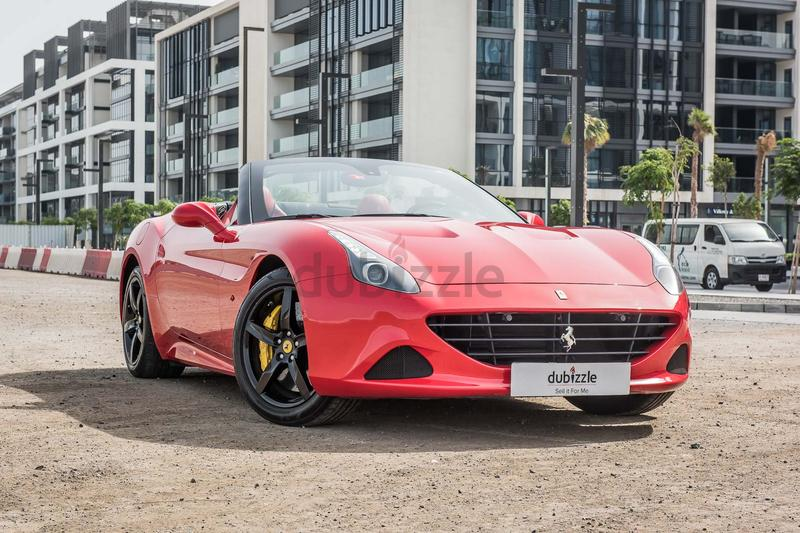 VERIFIED CAR! FERRARI CALIFORNIA T 2015 U2013 7 YEAR SERVICE CONTRACT U2013 EXPAT  OWNED U2013 GCC