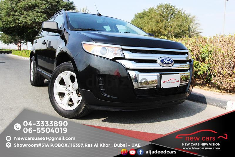 Gcc Ford Edge Xlt  Zero Down Payment Aed Monthly  Year Warranty