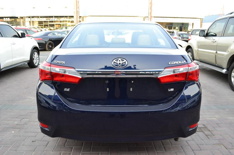 toyota corolla 2014 se mid option clean condition monthly 665 5 years 0. Black Bedroom Furniture Sets. Home Design Ideas