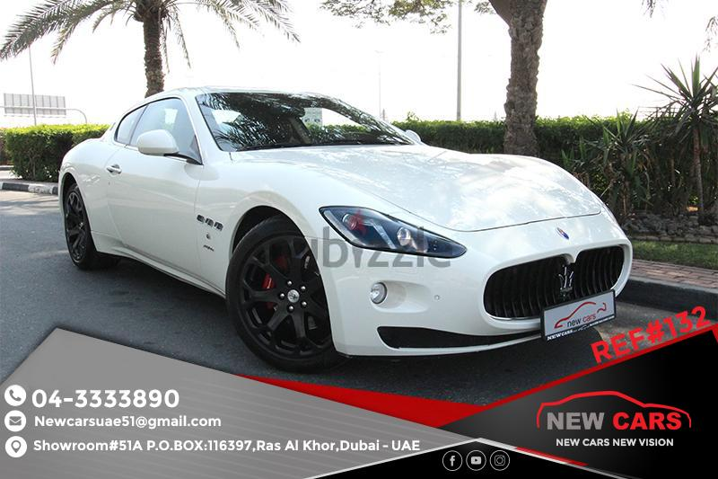 gcc maserati granturismo 2014 zero down payment 3705 aed monthly. Black Bedroom Furniture Sets. Home Design Ideas