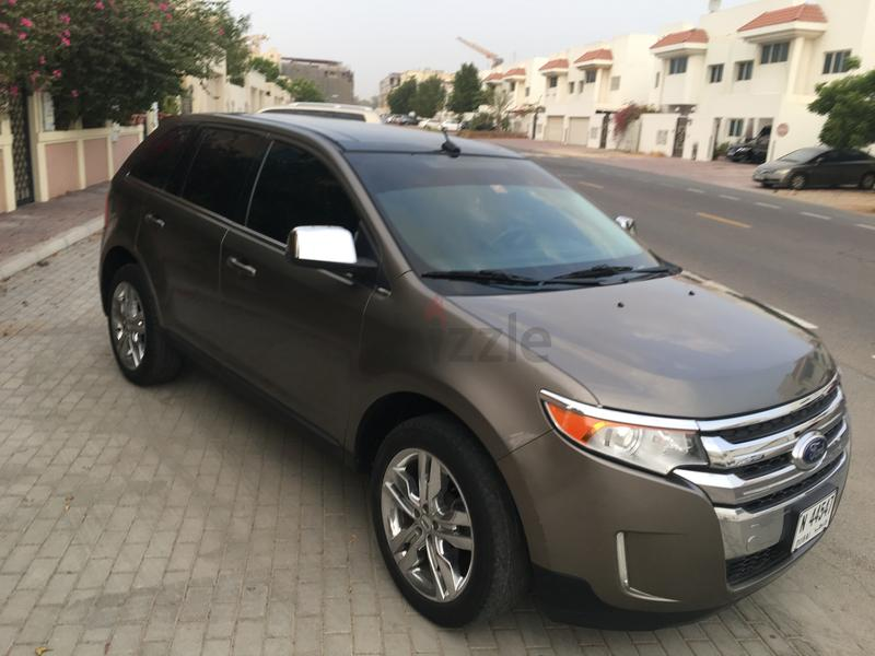Ford Edge  Limited Gcc Full Option Under Warranty Service