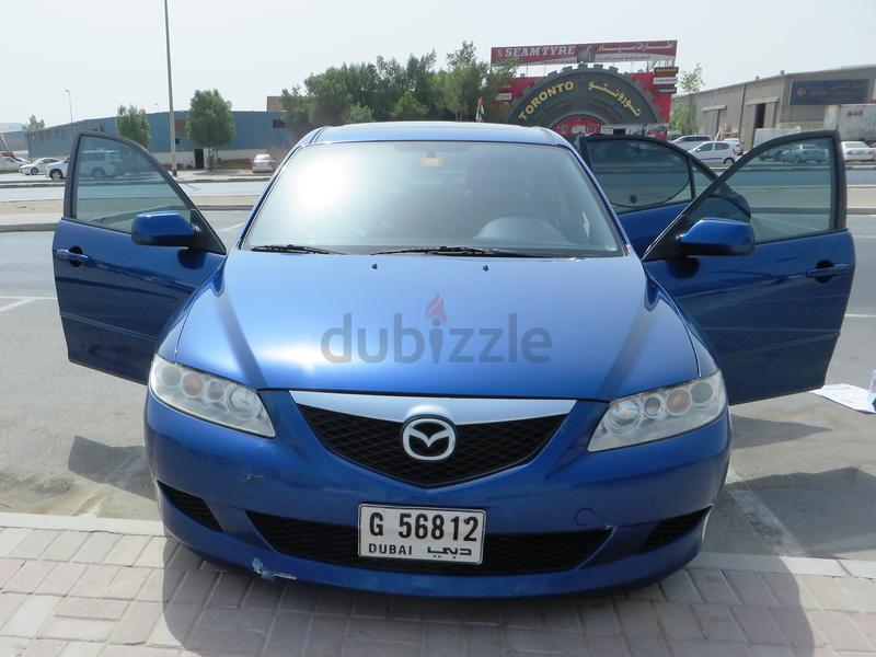 Beautiful Blue Mazda 6, 2004, GCC Specs