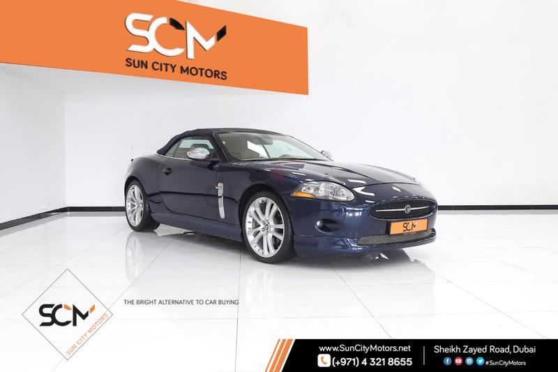 2007 JAGUAR XK 4.2L V8 CONVERTIBLE 300HP ))   IMMACULATE CONDITION