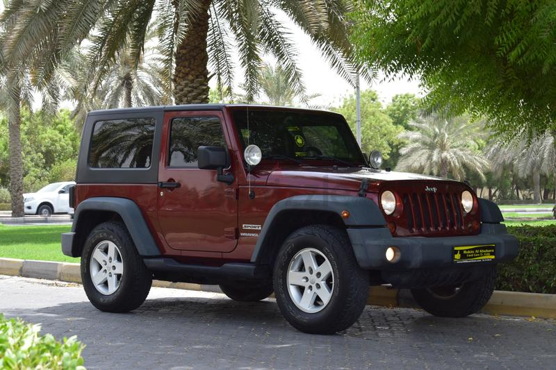 ALMOST NEW CAR.F.S.H....JEEP WRANGLER..The Car Looks And Drives Like New.