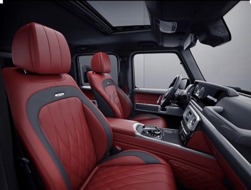 Dubizzle Dubai Cars >> dubizzle Dubai | G-Class: NEW G63 2019 BLACK AND RED INTERIOR