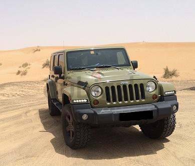 JEEP WRANGLER SAHARA UNLIMITED 3.6L 2013 COMMANDO GREEN