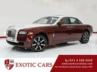 Rolls-Royce Ghost 2013 Maroon+White...