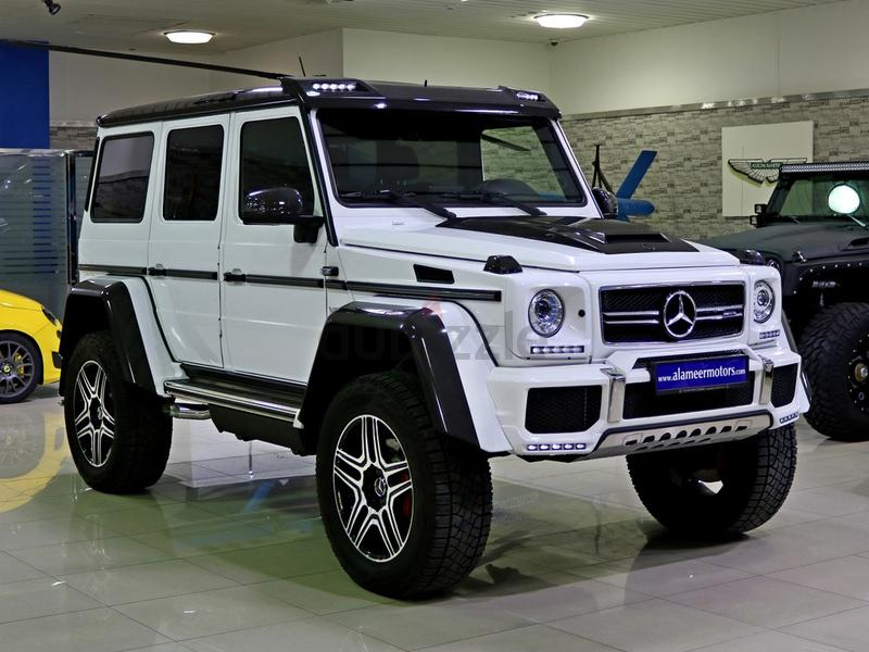 Dubizzle Dubai G Class 2017 Brabus Mercedes Benz G500 4x4 Under