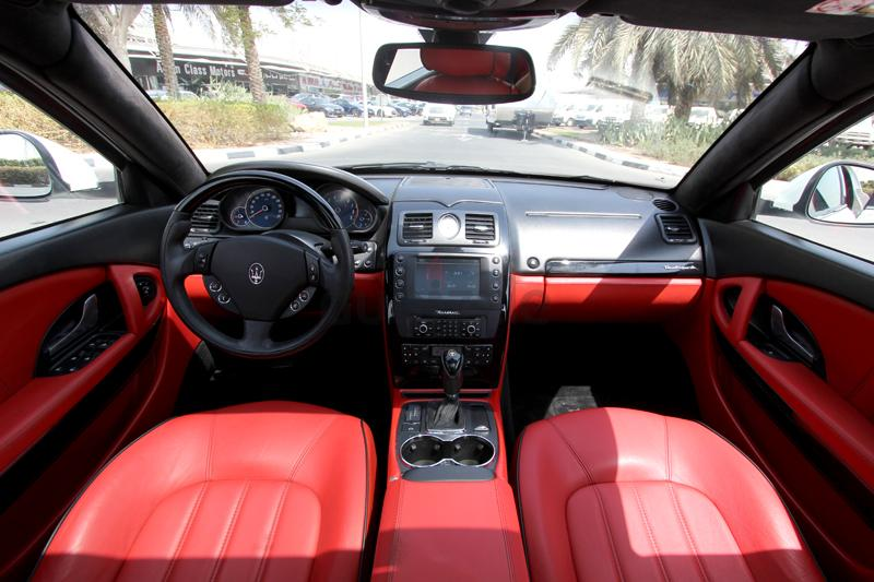 gcc maserati quattroporte 2011 zero down payment 1815aed monthly. Black Bedroom Furniture Sets. Home Design Ideas