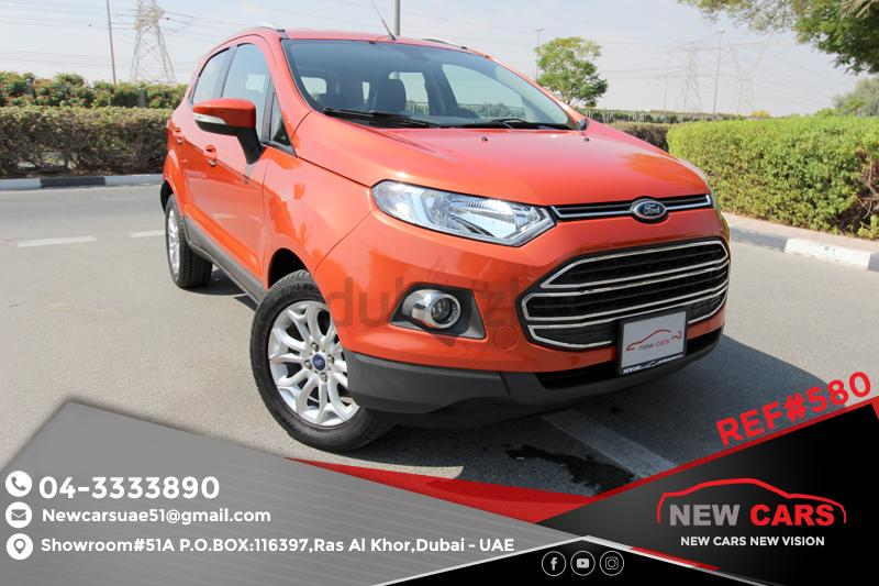 gcc ford ecosport 2016 zero down payment 855 aed monthly 1 year. Black Bedroom Furniture Sets. Home Design Ideas