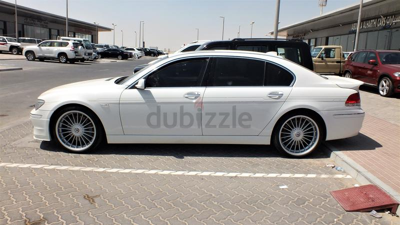 Dubizzle Abu Dhabi Series BMW B ALPINA EXCELLENT RUNNING CONDITION - Bmw 745i alpina