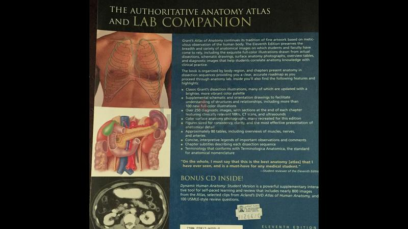 dubizzle Dubai | University: Medical book(atlas Anatomy)