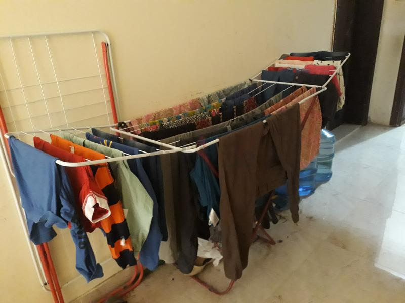 Clothes drying stand for just AED 35