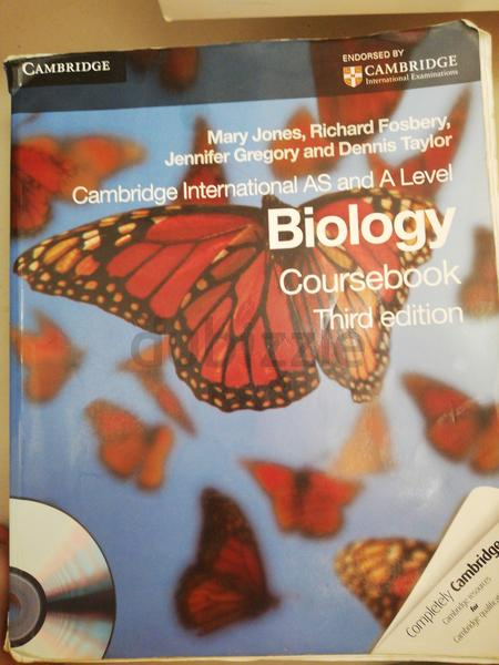 Cambridge As and A level biology coursebook