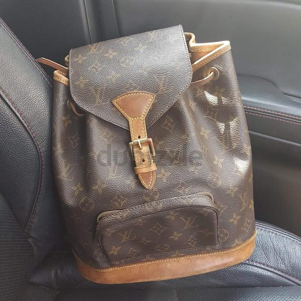 Preowned Authentic Louis Vuitton Backpack MM - AED 2 cdd8e313a3