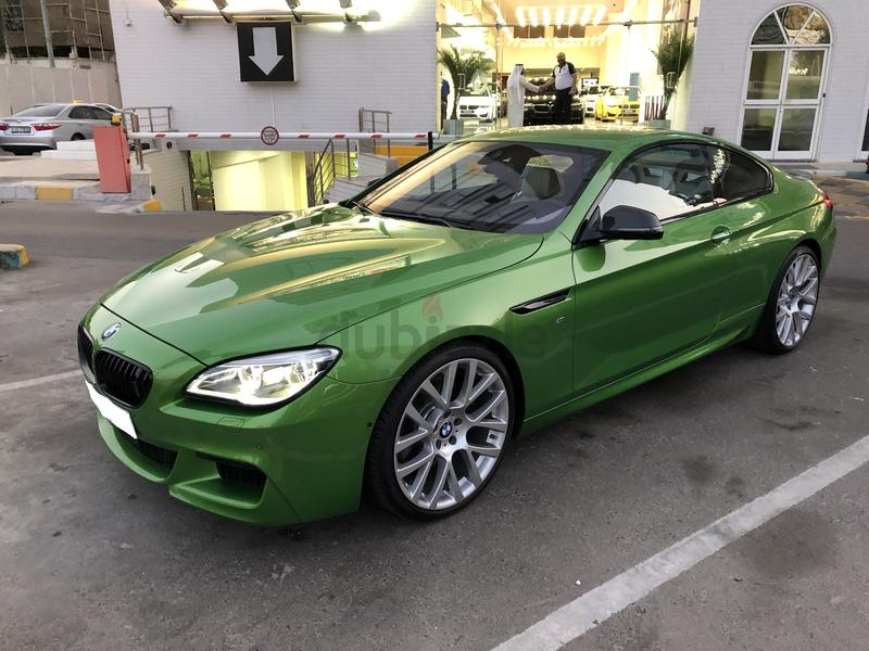 Dubizzle Ajman 6 Series Bmw 650i Coupe 2016 Individual Java Green