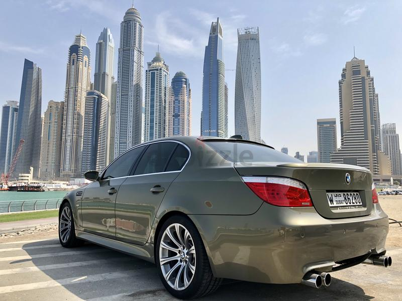 Bmw E60 M5 V10 Gcc Specs Perfect Condition