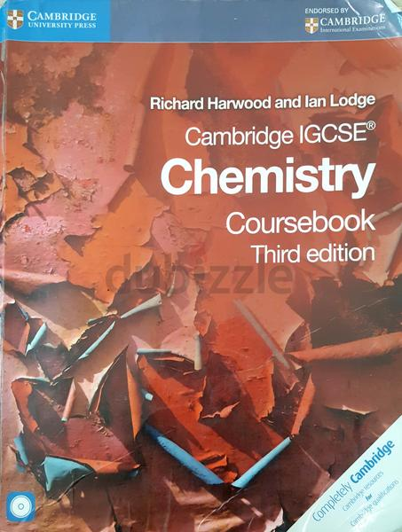 Cambridge igcse chemistry course book , third edition