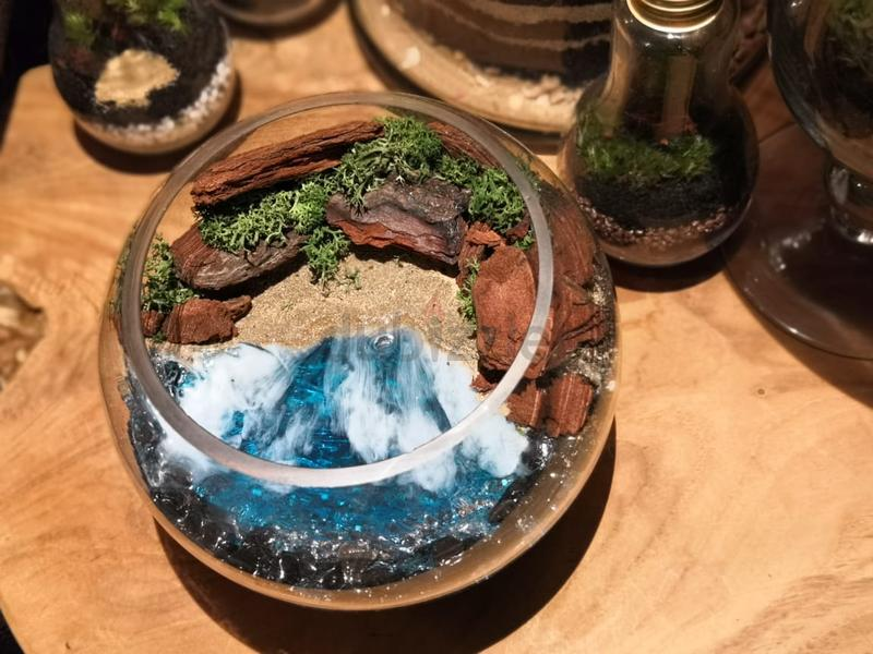 Dubizzle Dubai Home Decor Accents Beach Resin Terrarium Resin