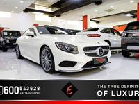 Mercedes-Benz S-Class 2017 [2017]BRAND NEW! MERCEDES S500 COUPE UNDER MA...