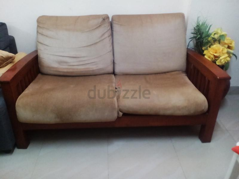 Two Seater Sofa With Centretable