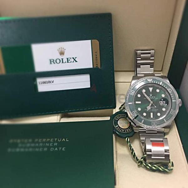 fdb82fd7df675 New Rolex batman for sale with papers and box - 60
