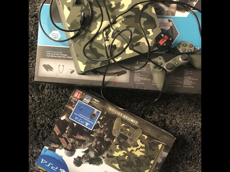 PS4 1TB army limited edition