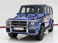 Mercedes-Benz G63 AMG 2017 Blue-Bro...